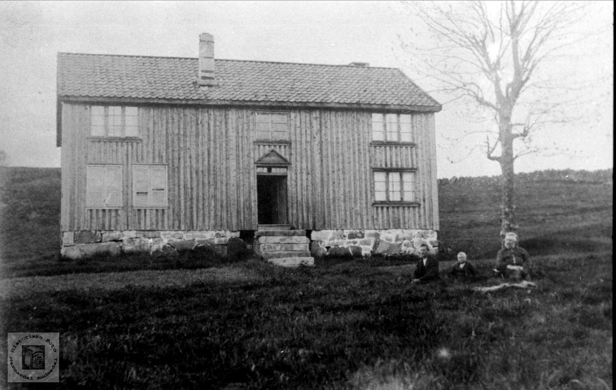 """Gamlehuset """"Der heima"""" Haugland, Bjelland"""
