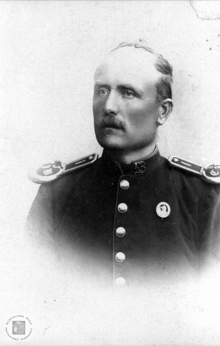 Portrett av Søren Røynesdal, Bjelland.