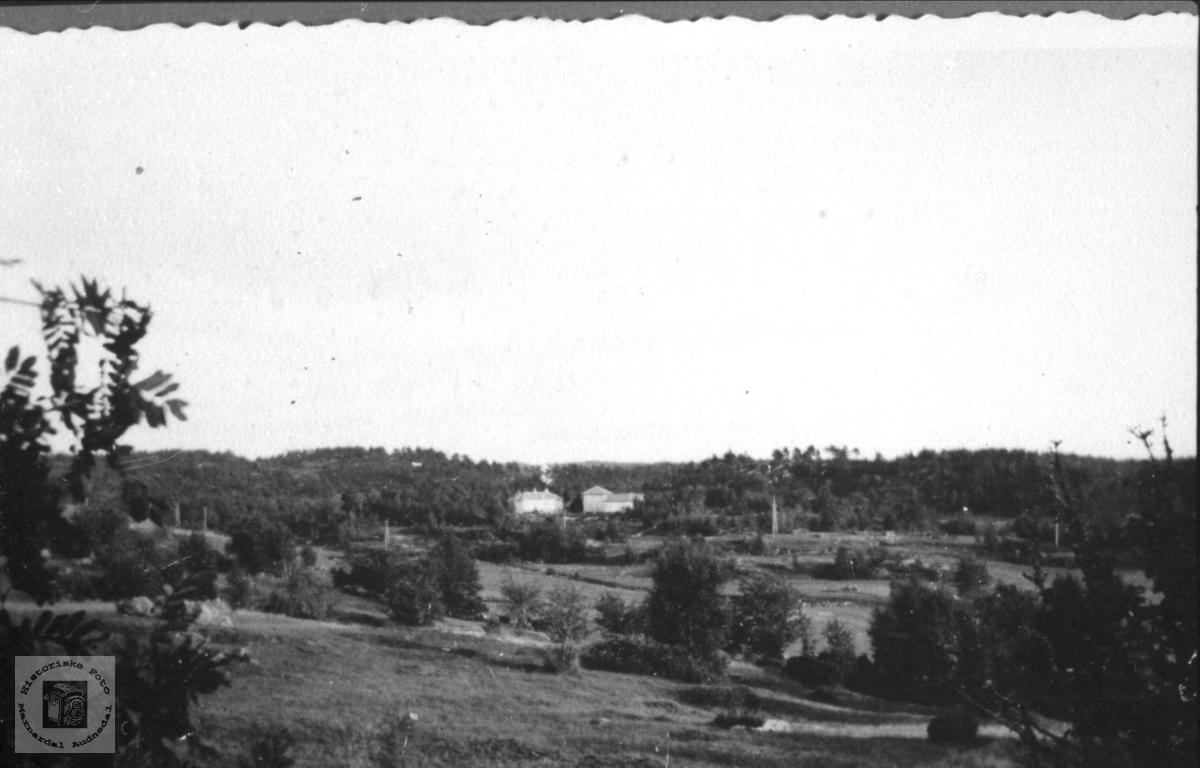 Ingemann Tønnesens hus på Kaddan i Laudal.