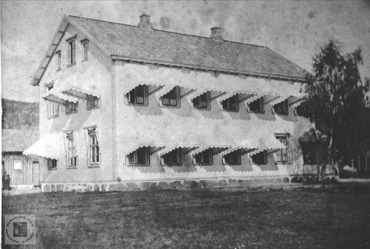 Vernons hus på Fodnebø i Holum.