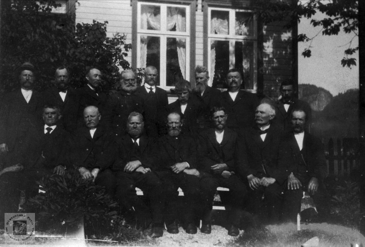 Siste herredstyremøte 1919.