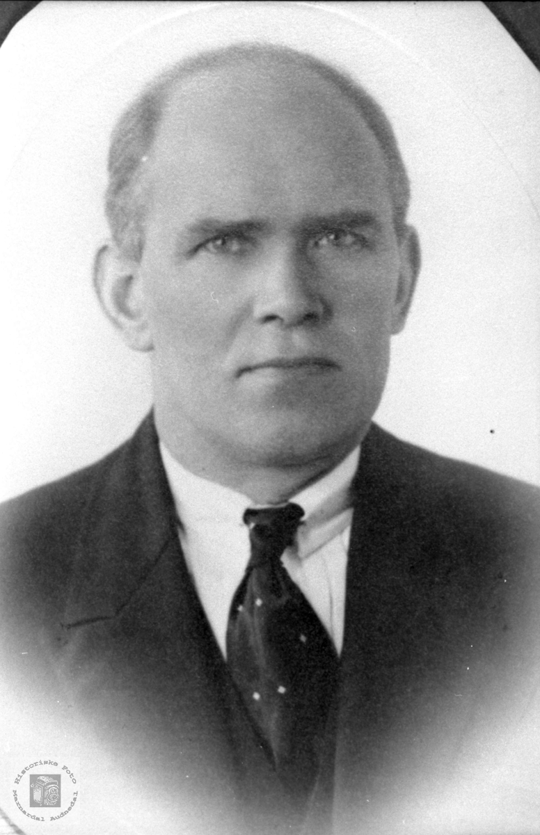 Portrett av Ole Fidjestøl