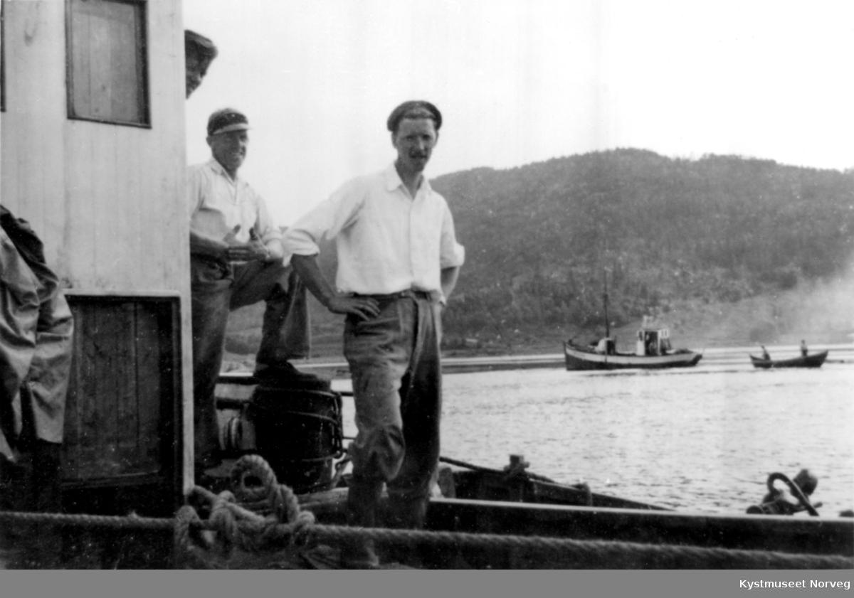 Sverre Binderø, Arne Frelsøy og Aksel Storsul