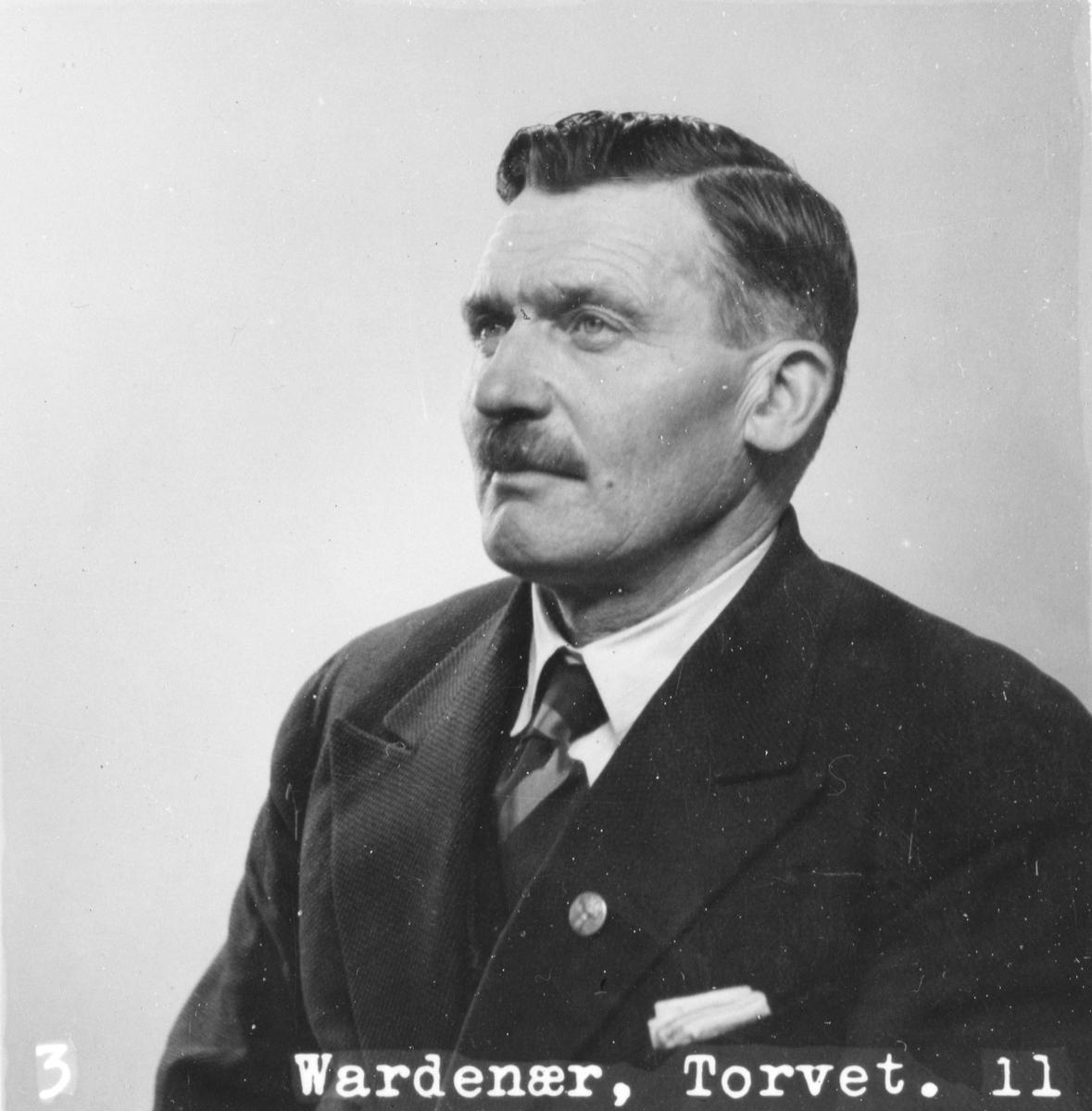 Portrett av Jon Sundby (1891 - 1983)