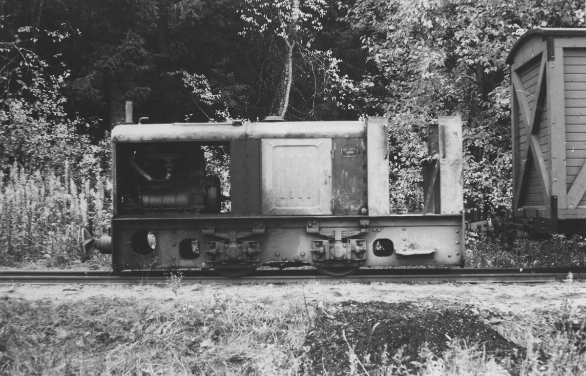 Urskog-Hølandsbanens diesellokomotiv kalt Bæleverket