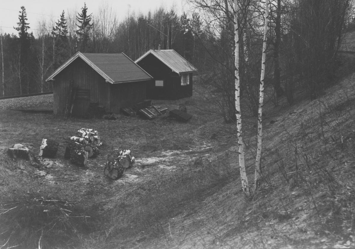 Bingsfoss hytte og uthus