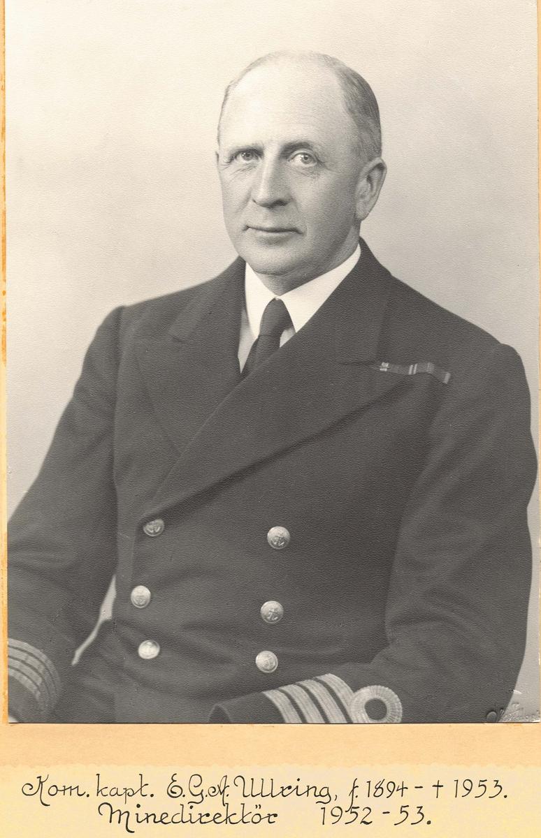 Motiv: Kommandørkaptein E.G.A.Ullring.
