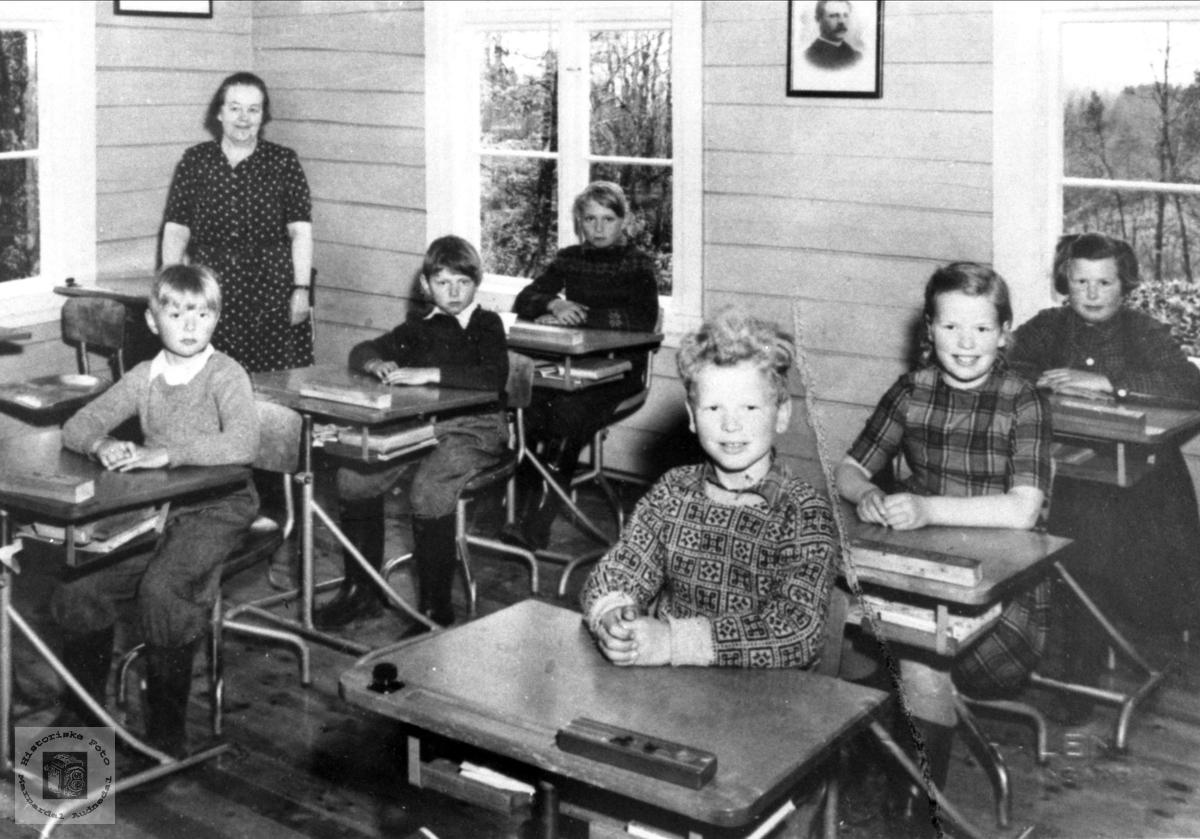 Gangså skole 1955/56