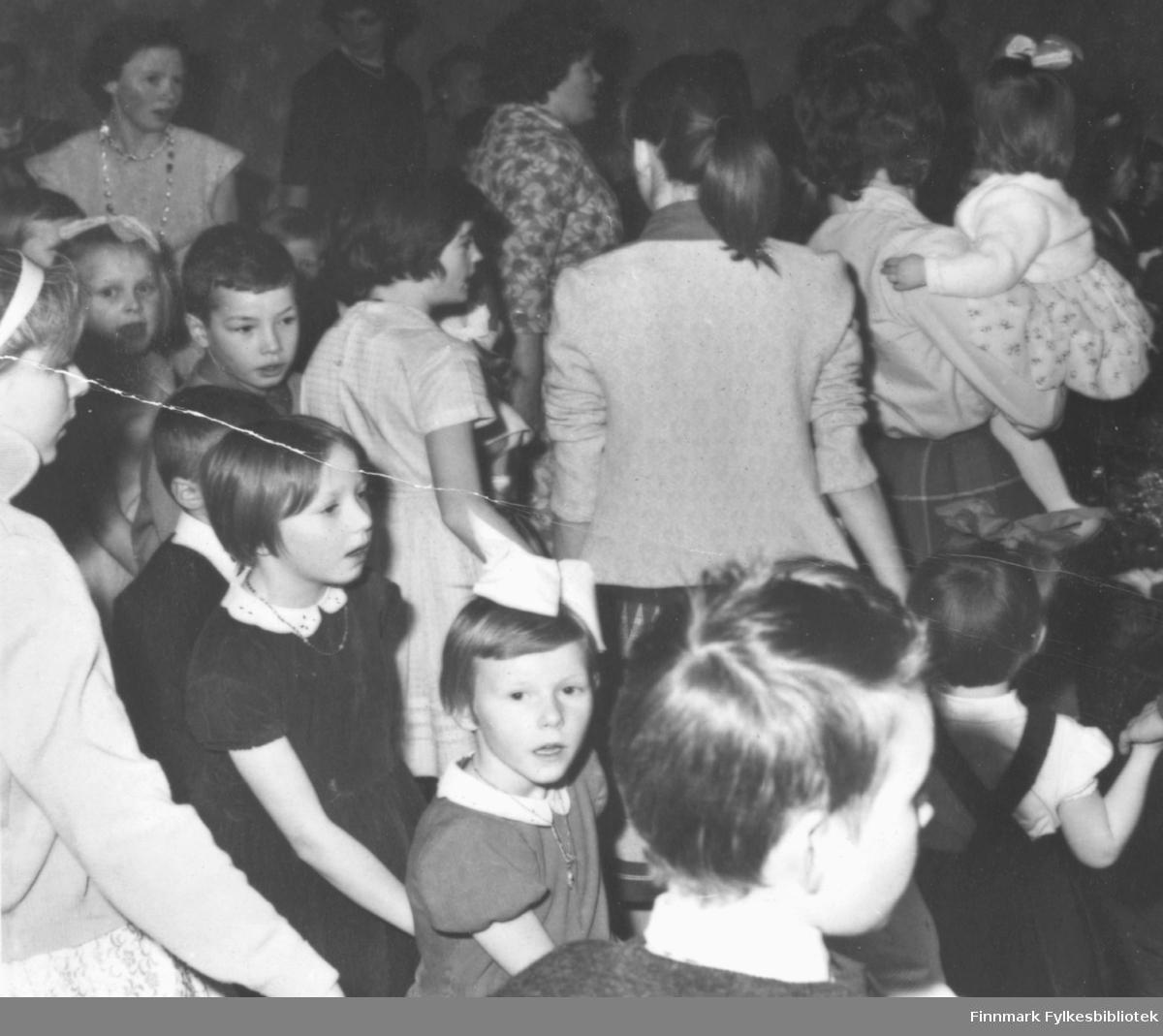 Juletrefest på Vårbrudd i Vadsø ca. 1960
