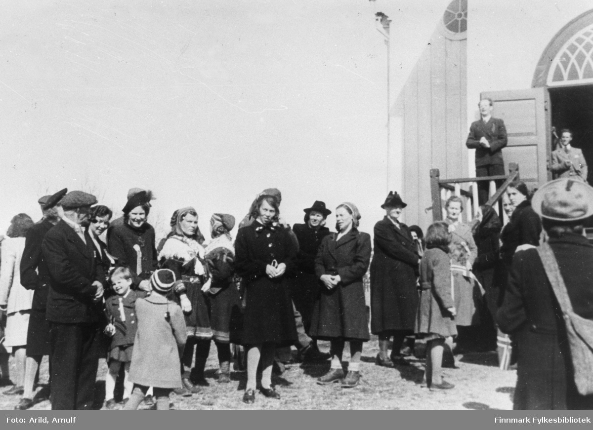 Bosekop 17.Mai 1946.