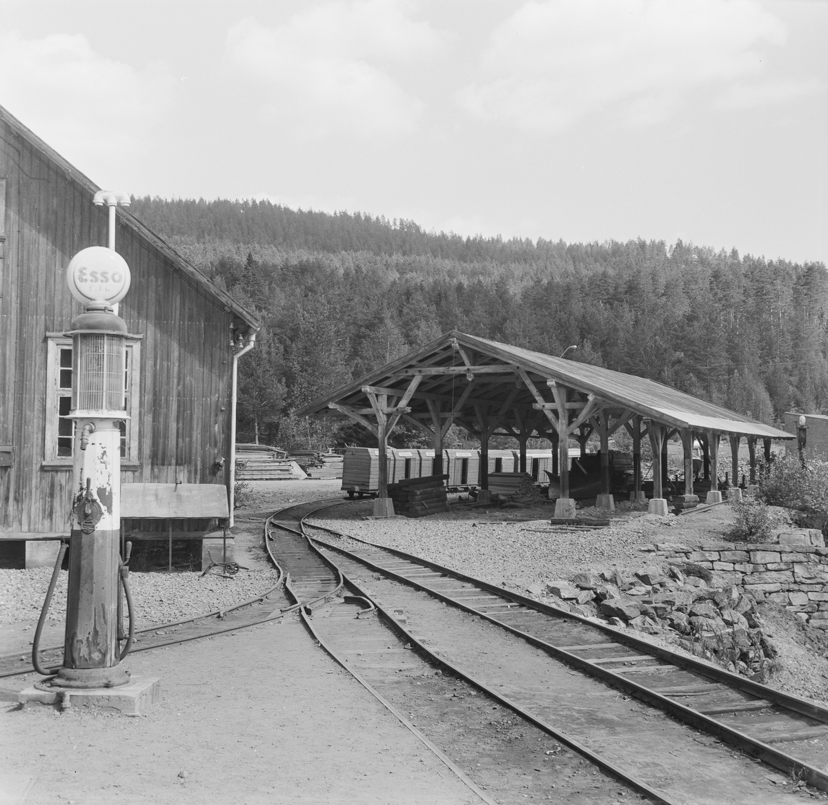 Stasjonsanlegg ved Sølvgruvene på Kongsberg