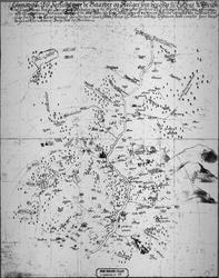 Kart over Løkken Kobberverks cirkumferens.