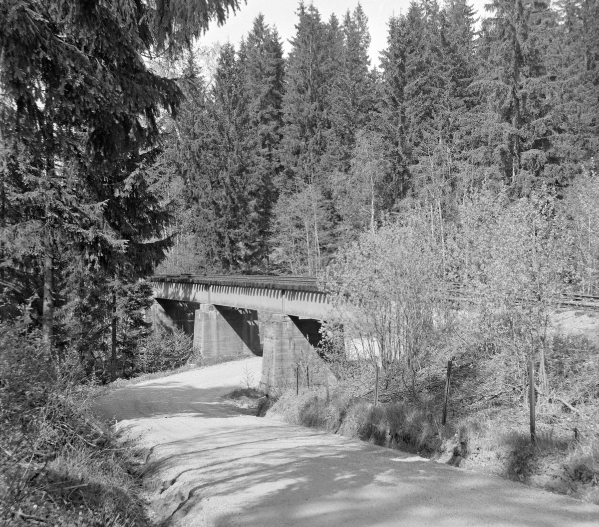 Langs traseen på den nedlagte Solbergfossbanen