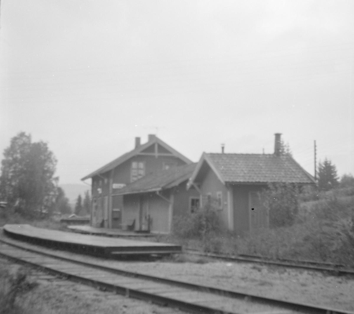 Sysle stasjon på Krøderbanen.