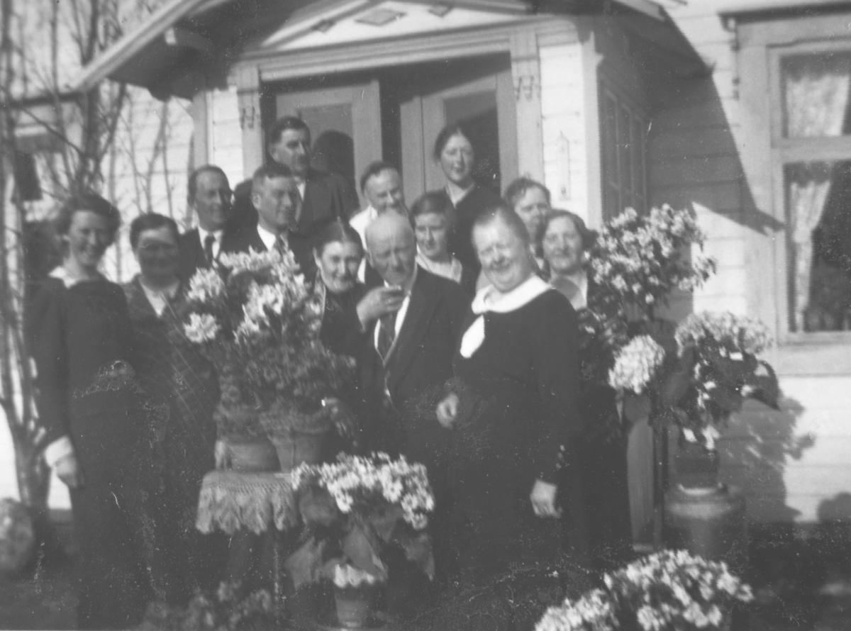 Gullbryllup på Haugseth 1936