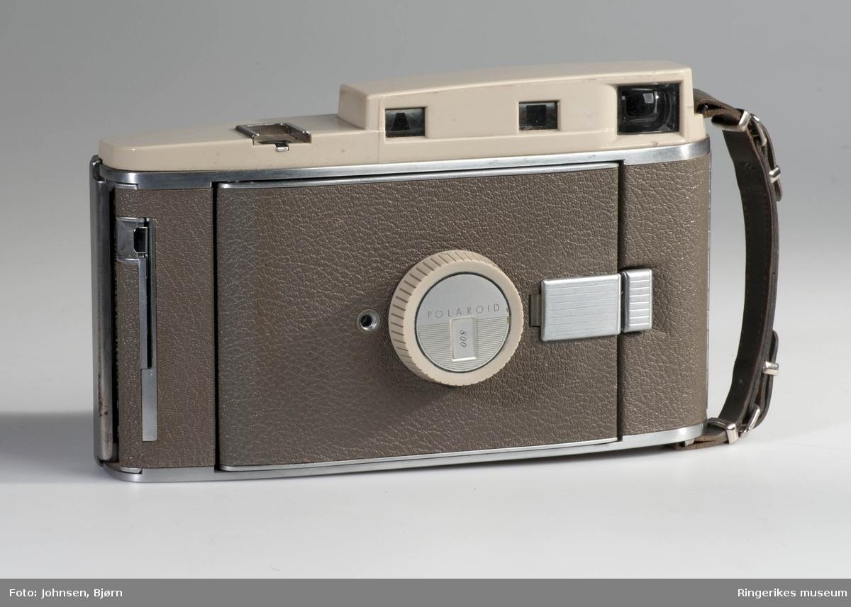 Polaroid Land camera med Eske og Bruksanvisning  1957