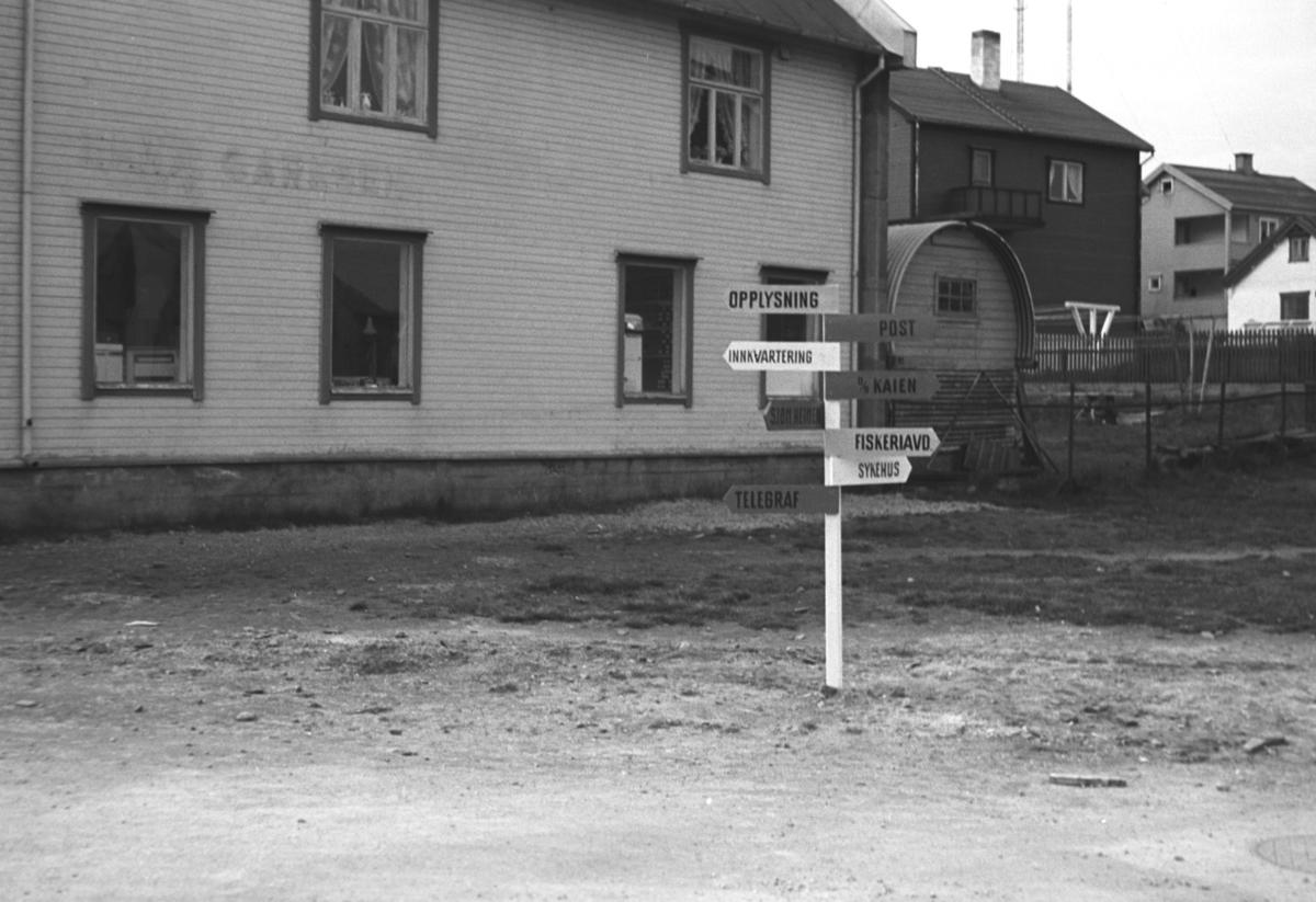 Bilde fra et gateparti i Vardø