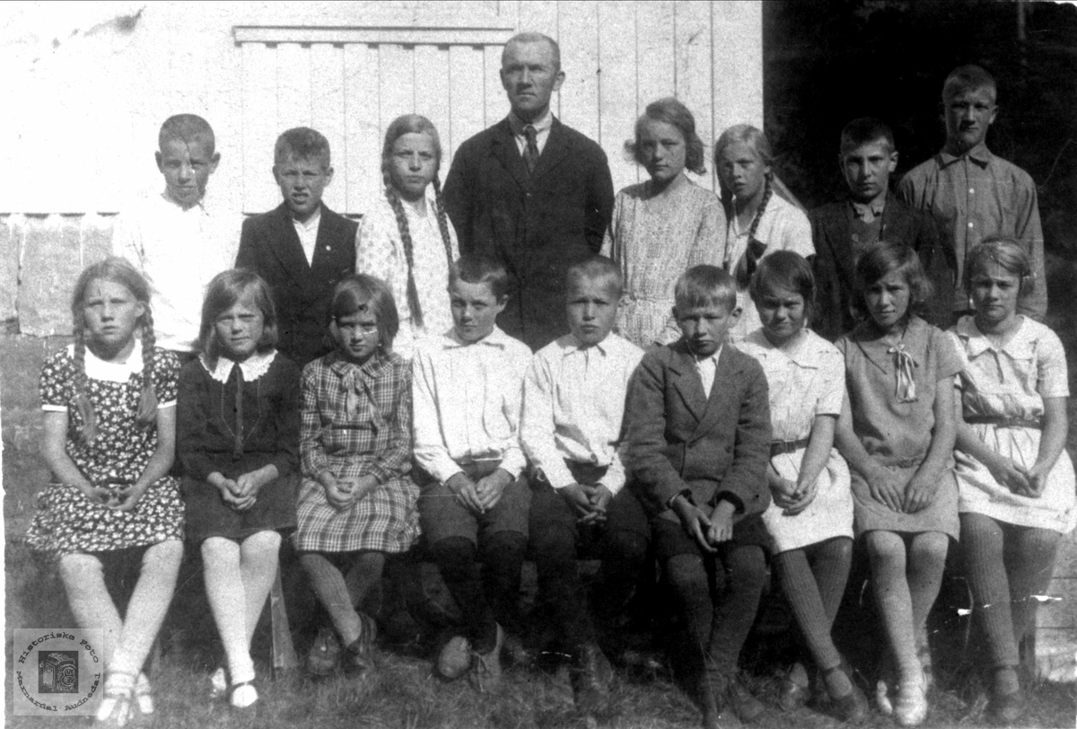 Skulebilde - Brusletta skule