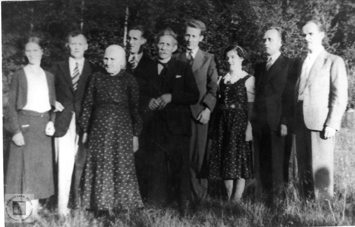 Familiefoto Ågedal