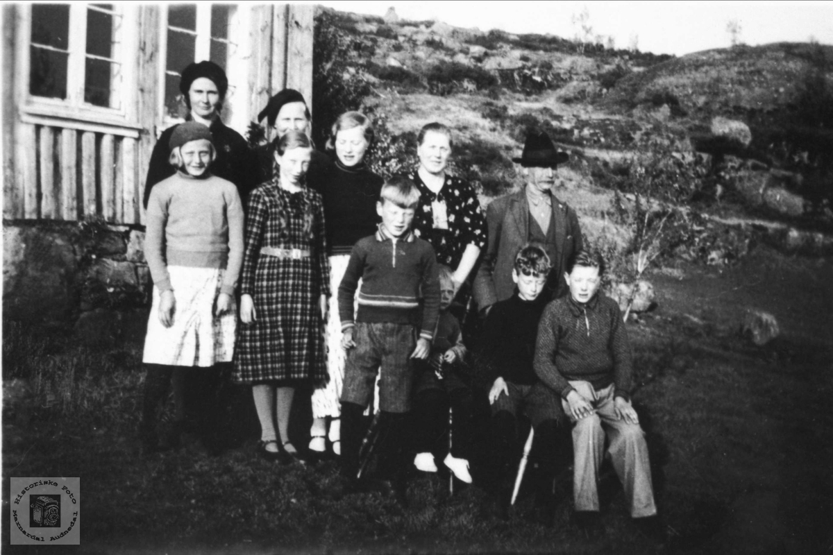 Familien Bjørnhom.