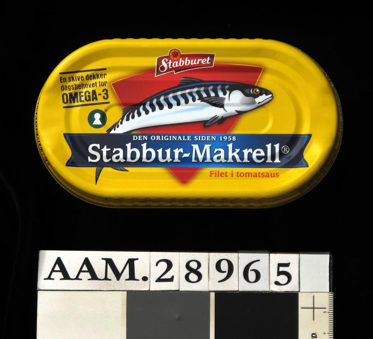Tegning av makrell.