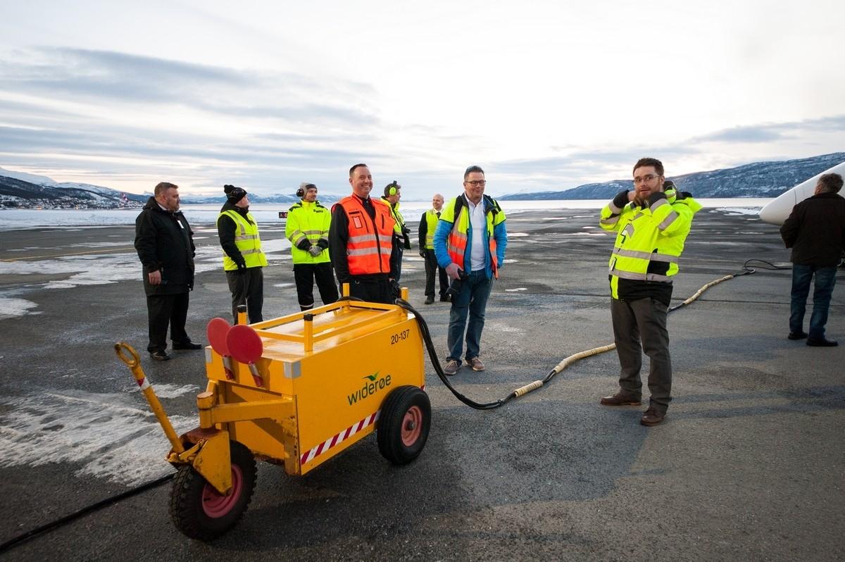 Narvik Lufthavn, Framns 31. mars 2017