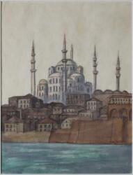 Istanbul, Hagia Sofia [Akvarellmålning]