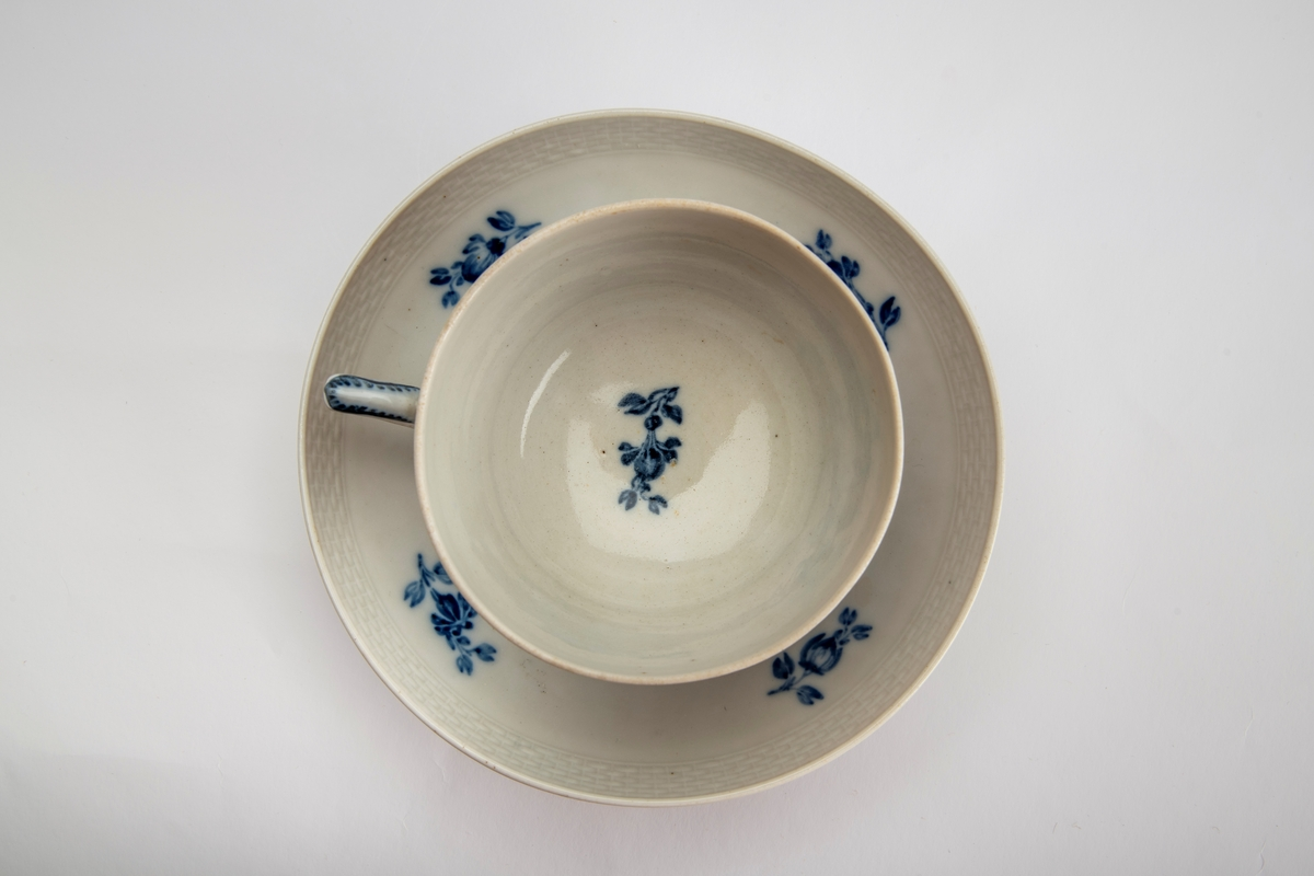 Blå blomst,