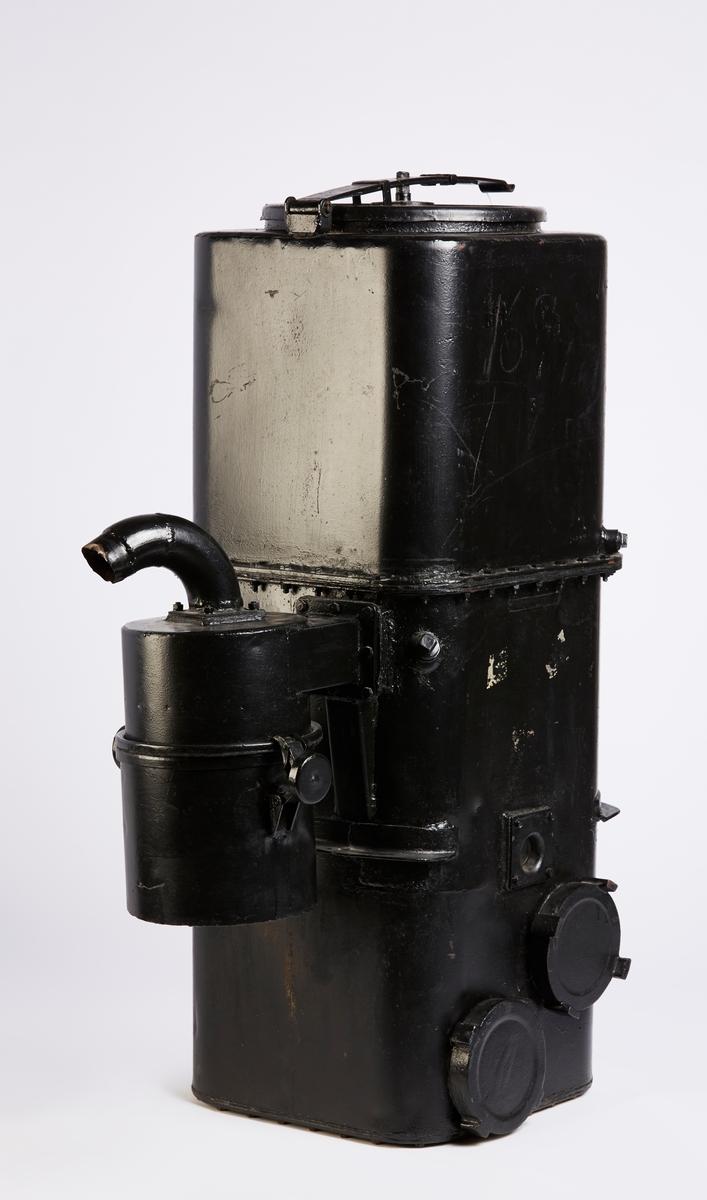 Generator med grovfilter