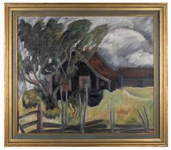 Husmandsplads Hadeland [Målning]