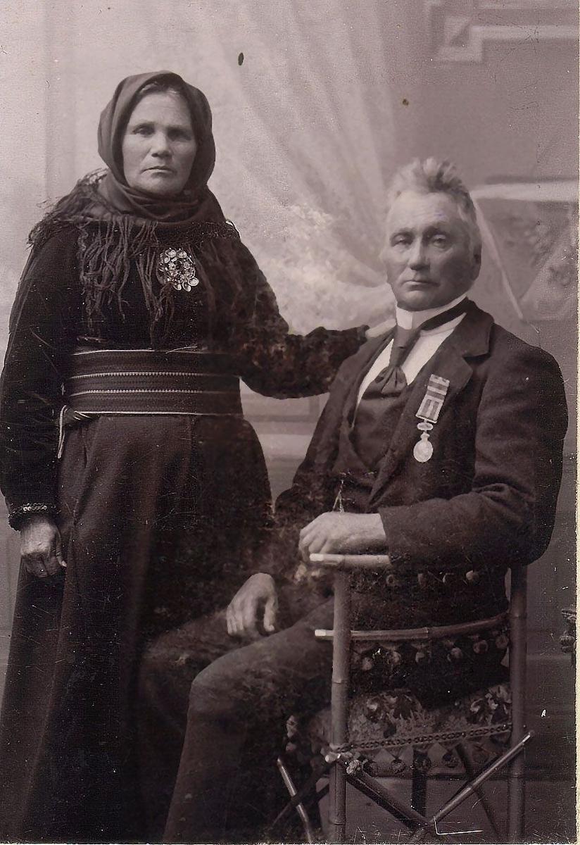 Tor Kittilsson Oterholt og kona