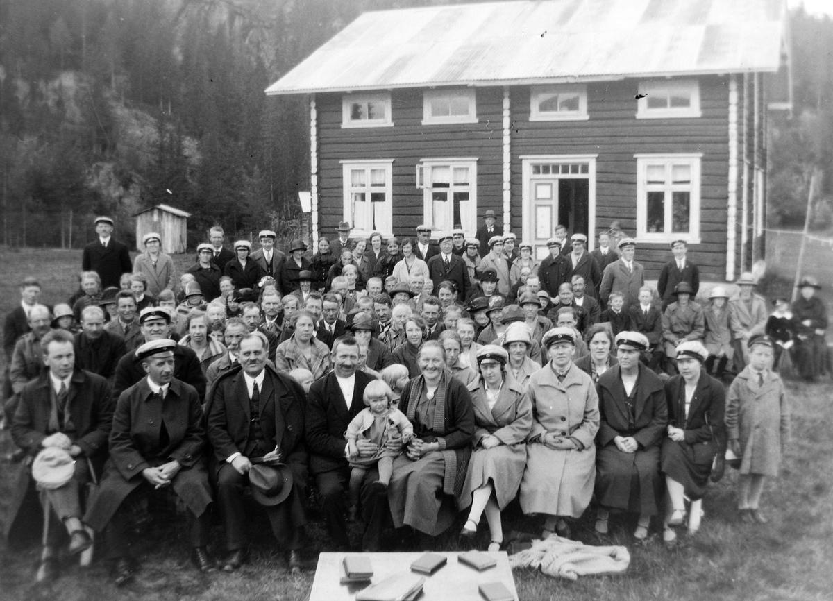 Kongsberg metodistene på sangerstevne.