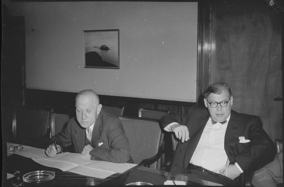 Transittkonferanse i Trondheim, sept. 1953