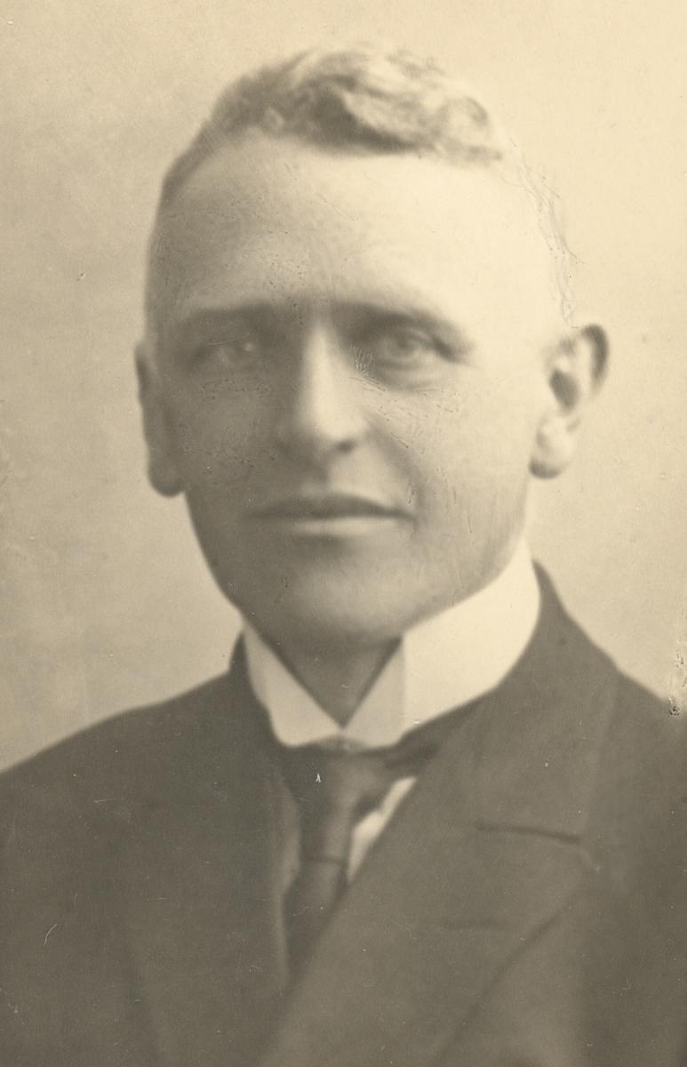 Fritz Hoch, son til Johan Fredrik Hoch