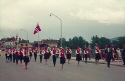 Bybrua. 17.mai 1960 Ullerål musikk korps