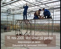 """16.november 2000: Lys og """"sjitne gulerøde"""""""
