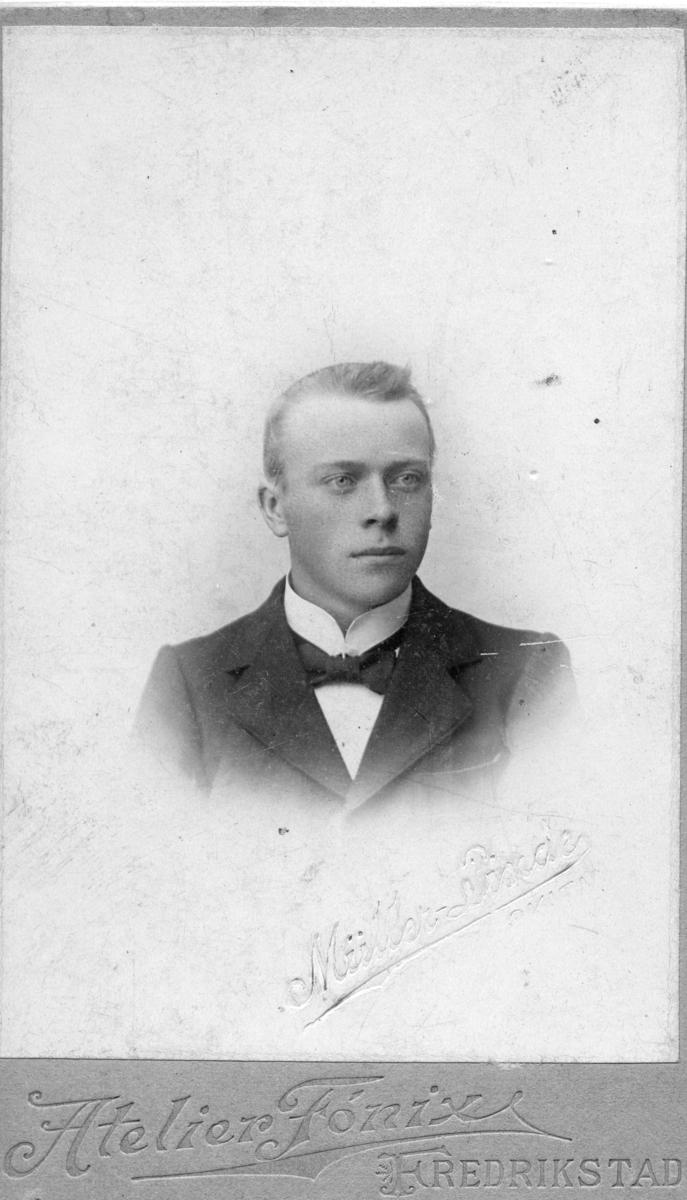 Portrettfoto av mann