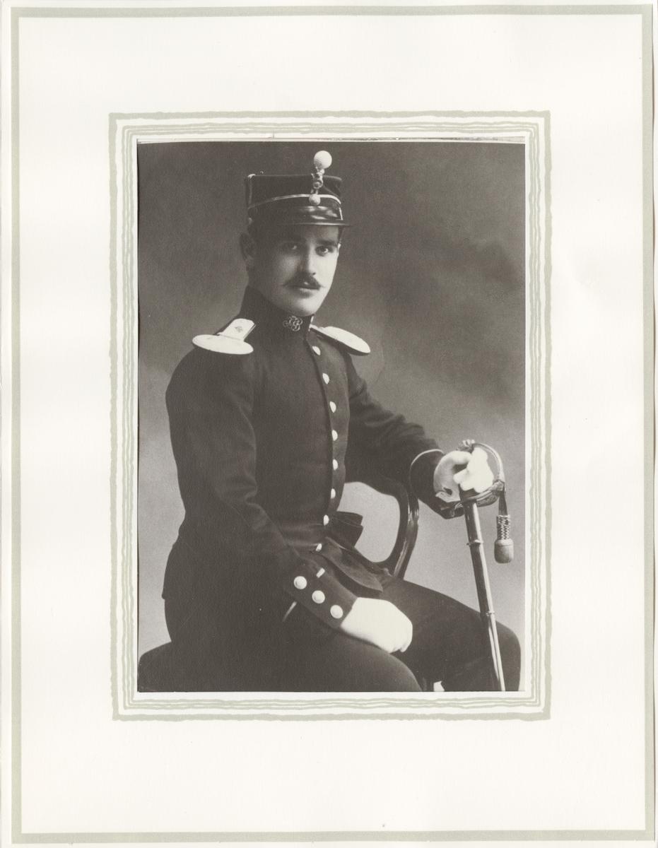 Porträtt av Ephraim Wolff Koritzinsky, norsk läkare.