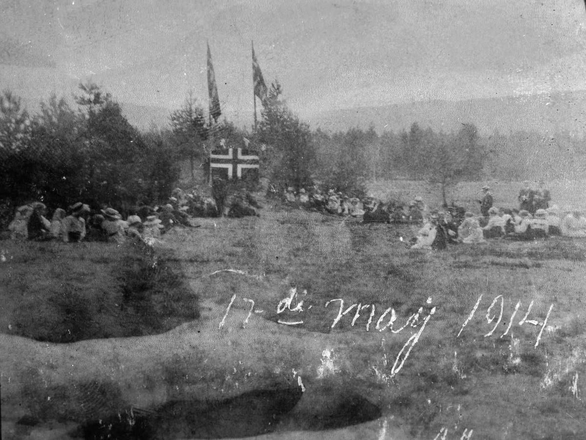 Åmlibilder samlet av Åmli historielag 17. mai feiring ved Nestjønn