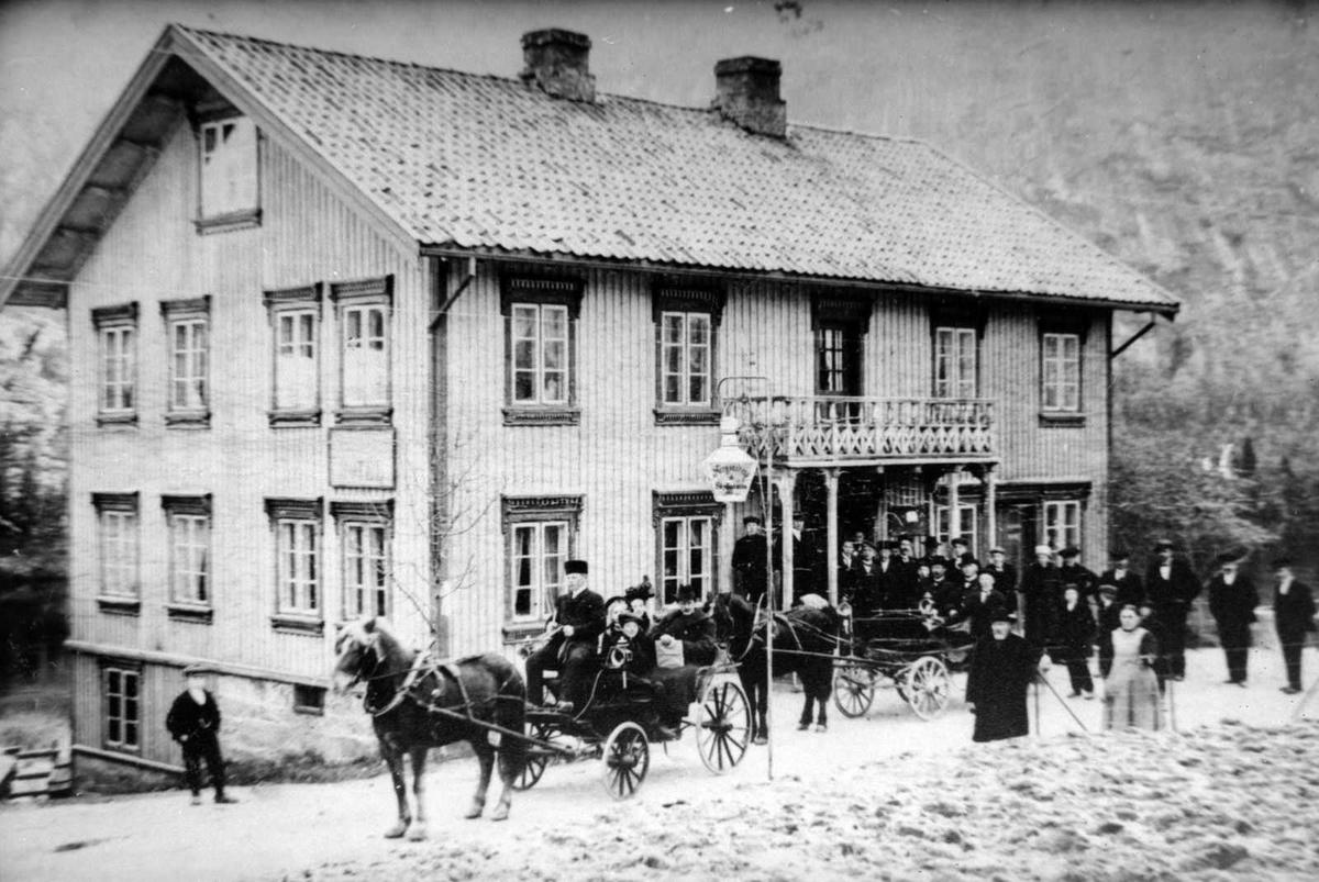 Åmlibilder samlet av Åmli historielag Askelands hotell
