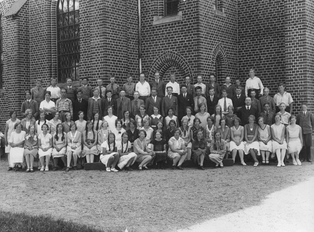 Konfirmasjon, Ås kirke 1930