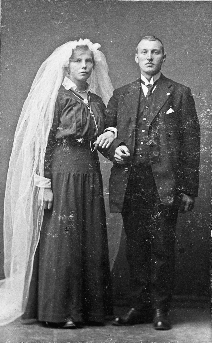 Bryllupsbilde ca 1900
