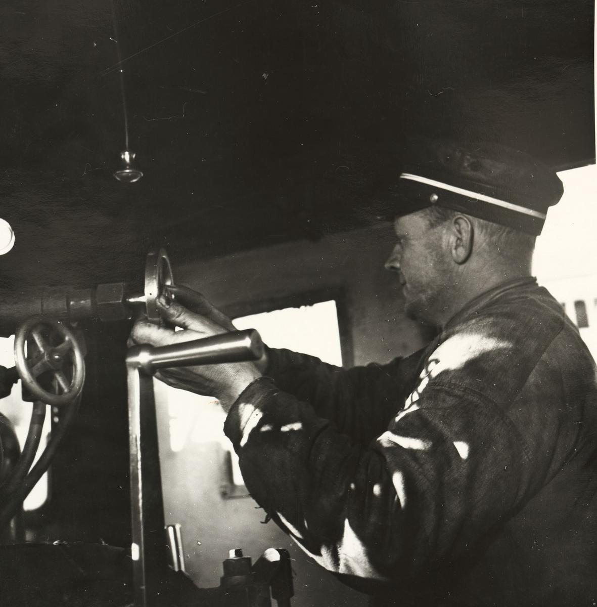 Lokomotivførerens arbeidsplass