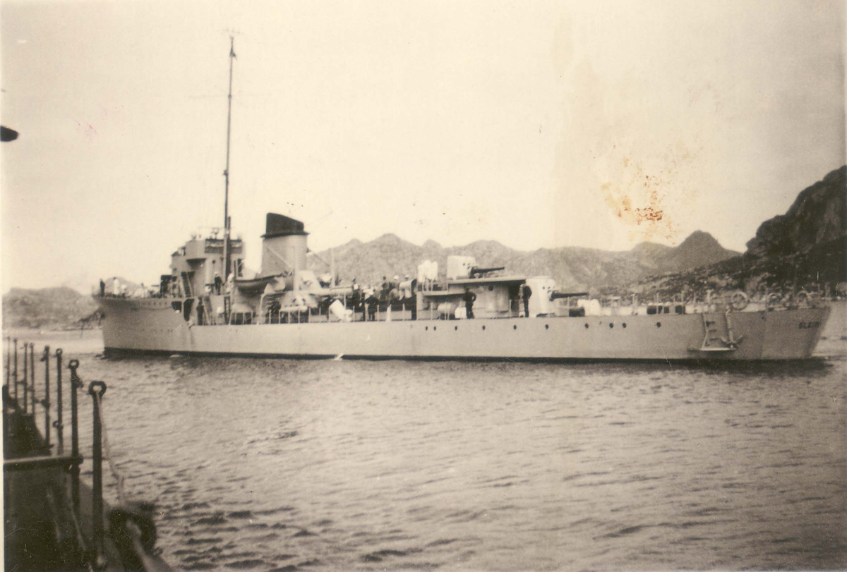 """Jageren """"Sleipner"""", sommeren 1937."""