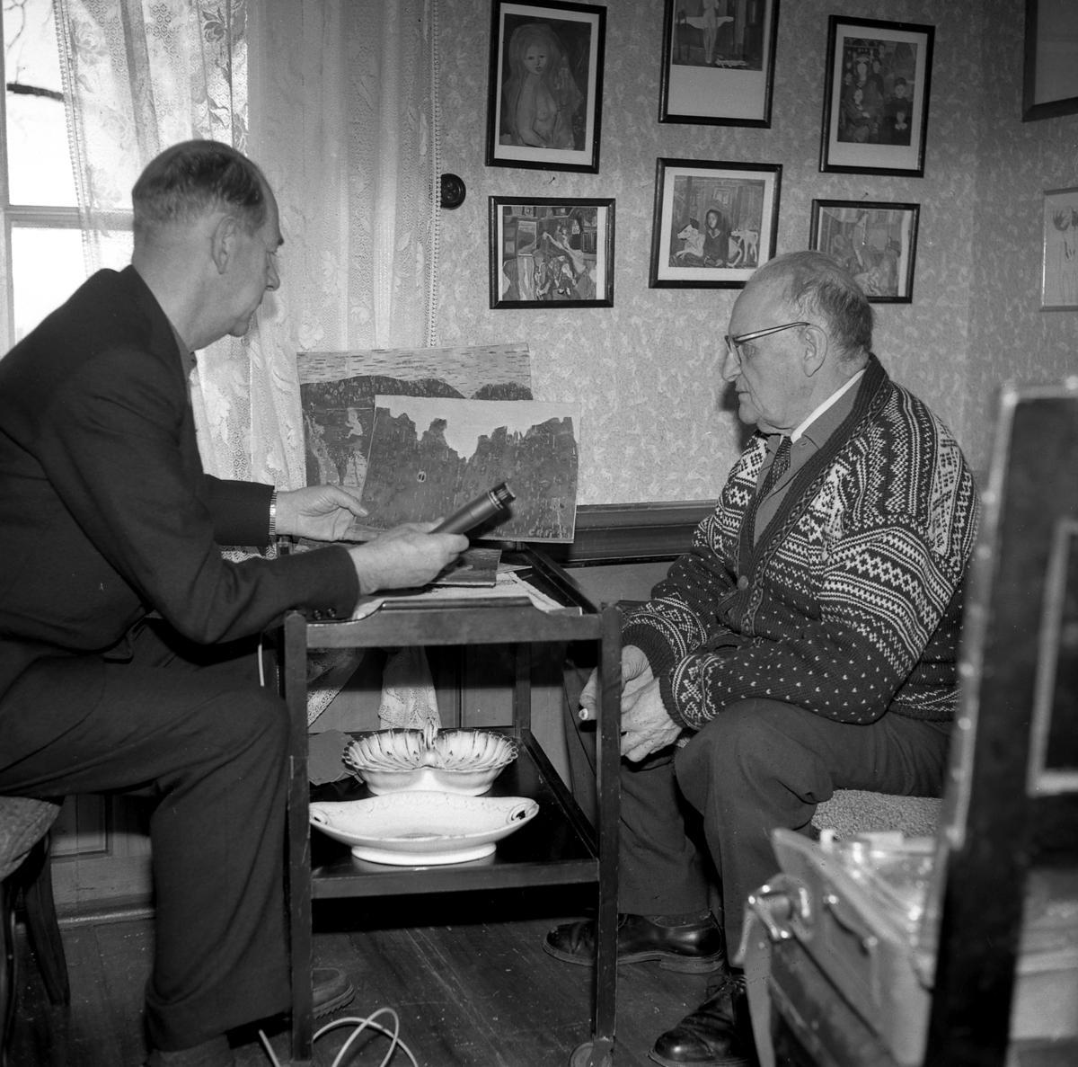 Otto Nielsen og Conrad B. Fjeld
