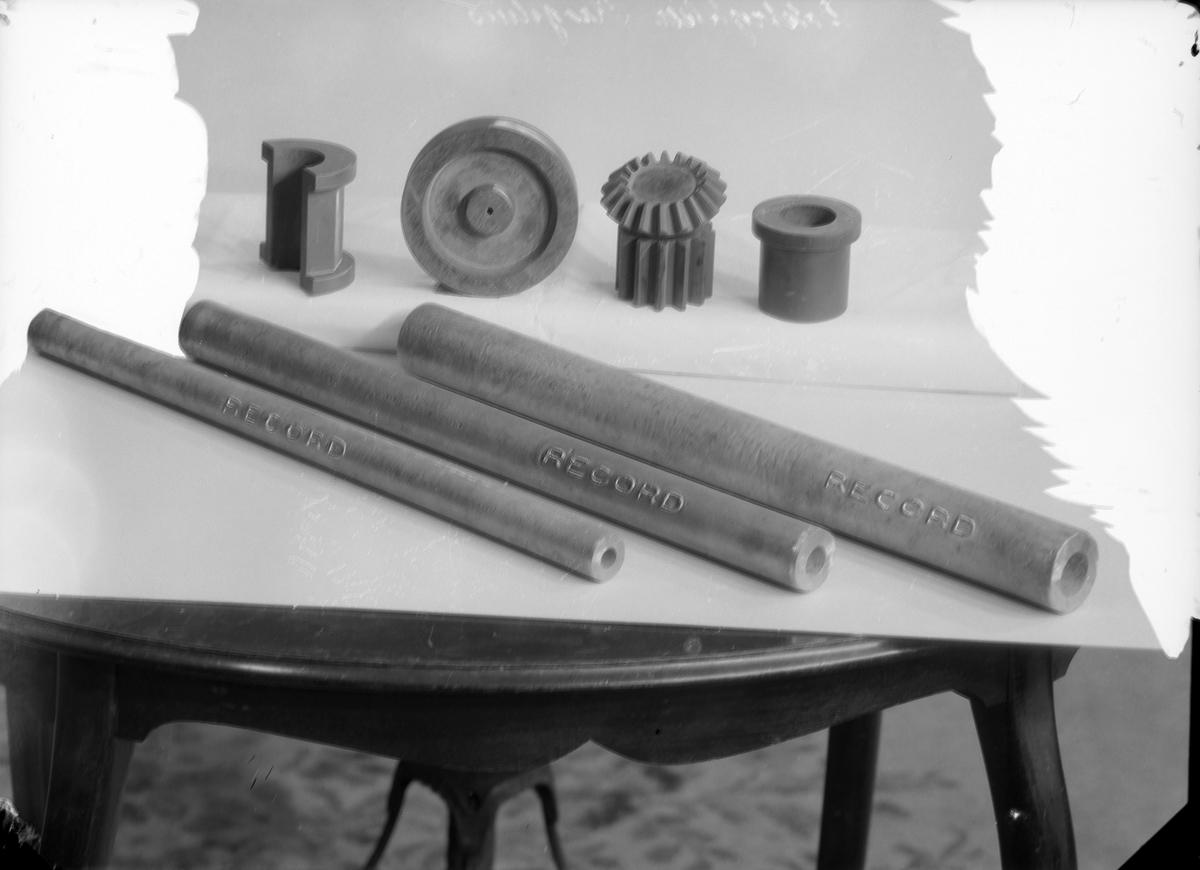 Tannhjul og maskindeler fotografert for boktrykker Krogshus