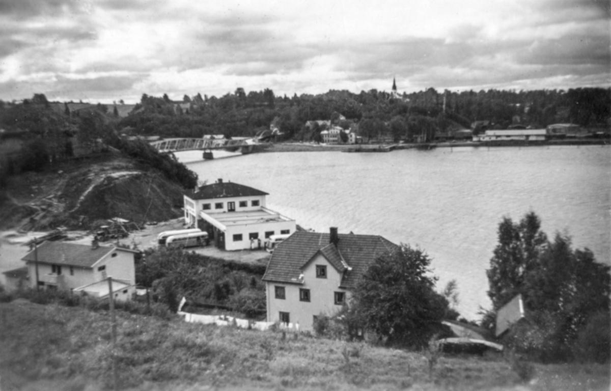 Utsikt over Sundet og Rubis-plassen fra nord.