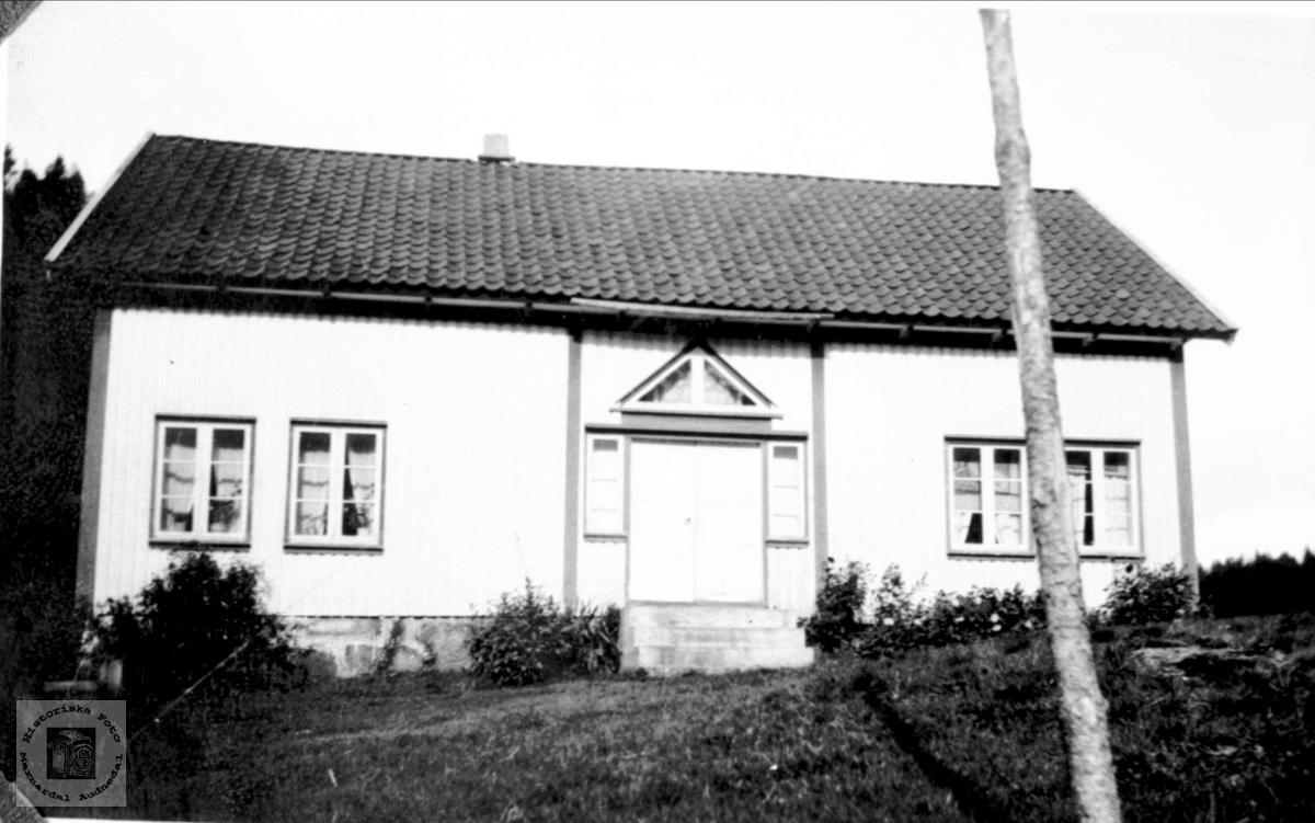 Heimen på Flåt, Bjelland nå Audnedal.