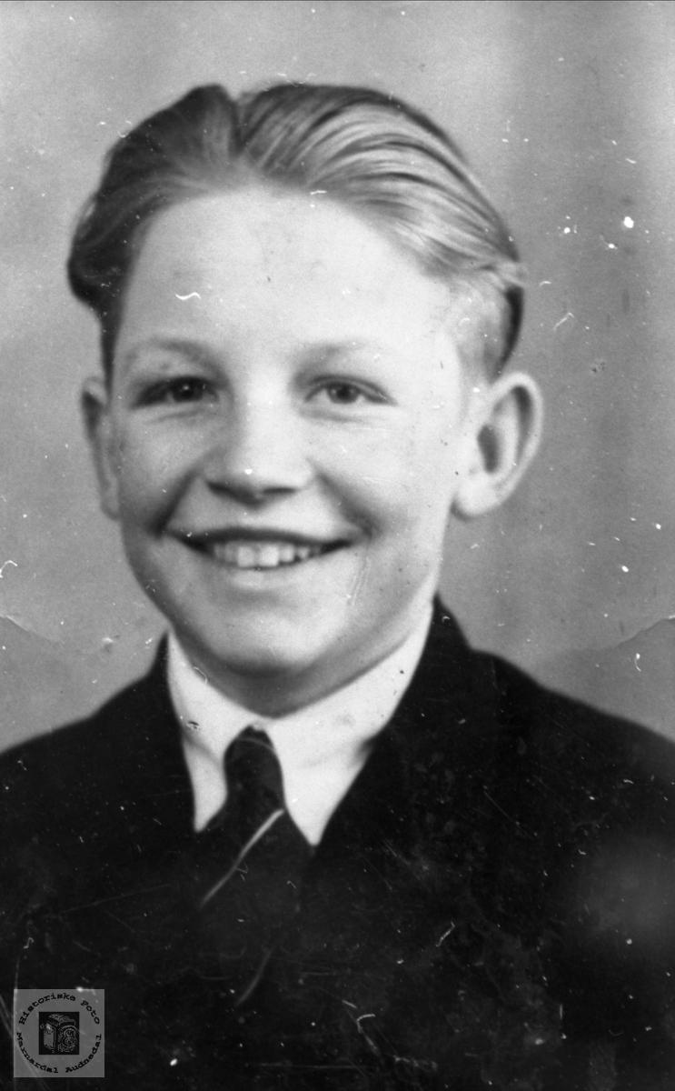 Passfoto Sigurd Åsan, Bjelland.