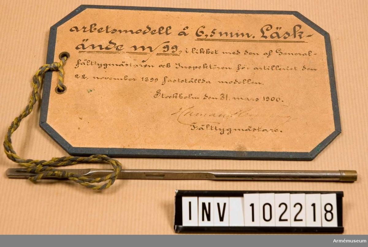 Läskände m/1899